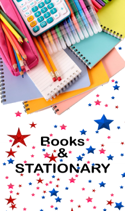 BOOKS & STATIONARY