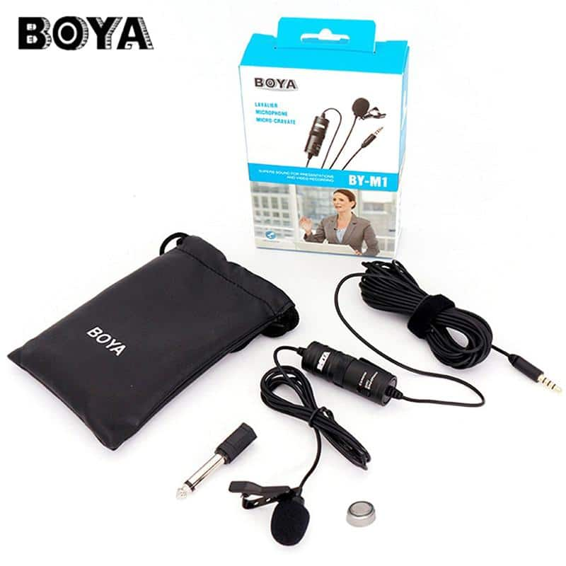Best BOYA BY M1 Microphone Boya Professional Microphone For Mobile & Dslr - Black 2020 Edition