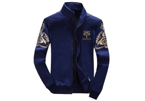 FULL SLEEVE MEN'S JACKET - BLUE