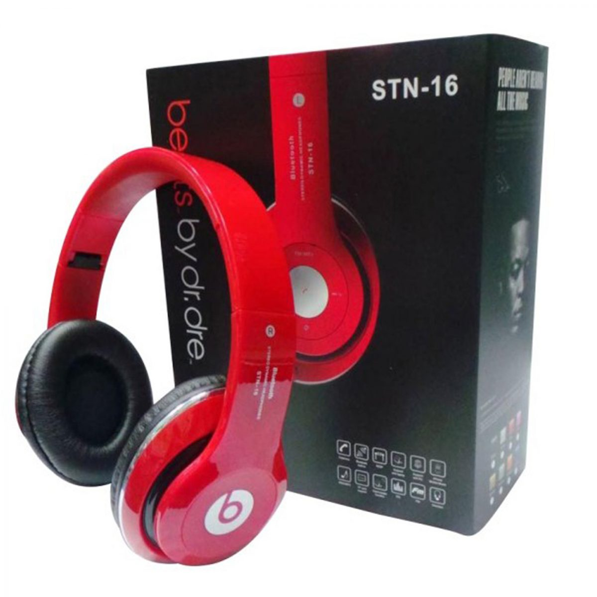 STN 16 Wireless Headphone - Red
