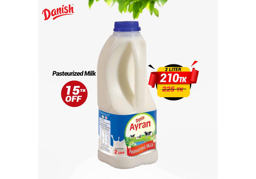 DANISH AYRAN PASTEURIZED MILK 2LTR