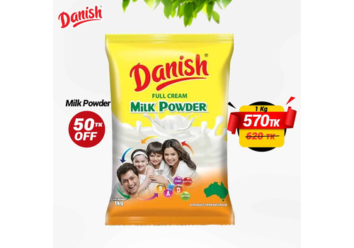 DANISH FULL CREAM MILK POWDER 1KG