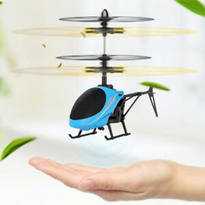Sensor flying helicopter toys
