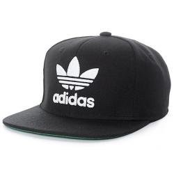 Black And White Dj Cotton Cap For Men